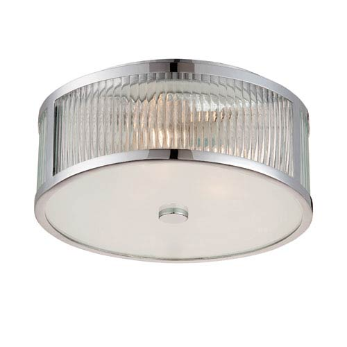 Savoy House Lombard 15-Inch Flush Mount