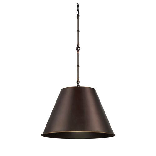 Alden Old Bronze One-Light Pendant