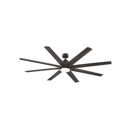Bluff English bronze LED 72-Inch Outdoor Ceiling Fan