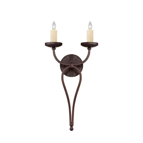 Elba Oiled Copper Two-Light Wall Sconce