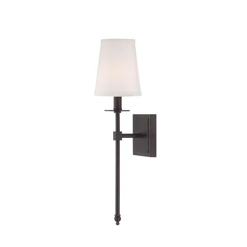 Savoy House Monroe Bronze One-Light 5-Inch Wide Wall Sconce