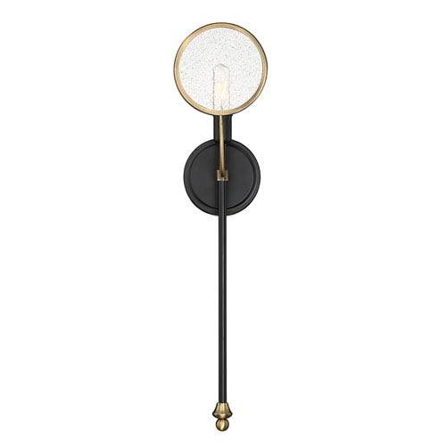 Obery Vintage Black 6-Inch One-Light Wall Sconce