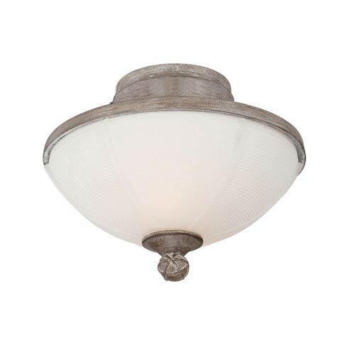 Danville Aged Wood Three-Light Fan Light Kit