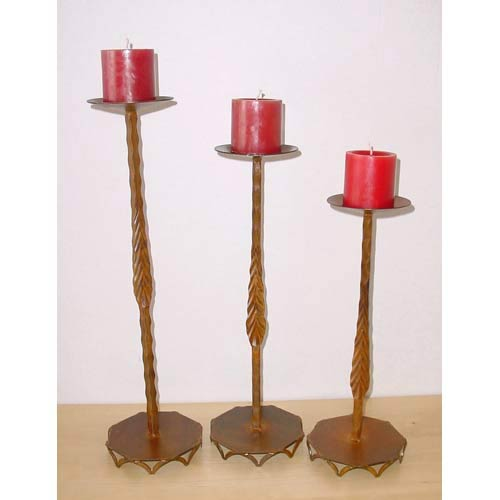 Hacienda Candle Holders, Set of Three