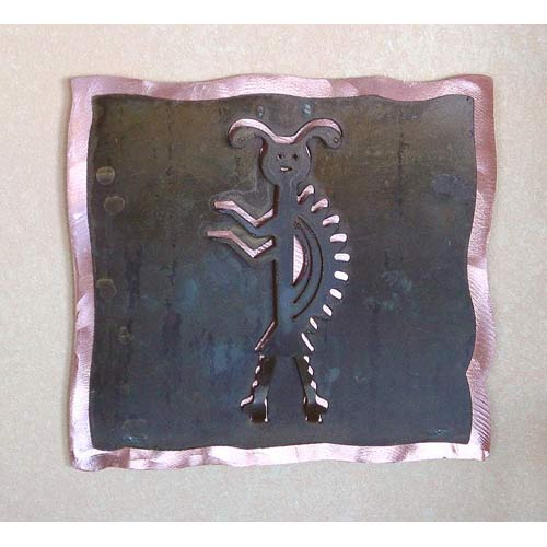 Madera Single With Copper Wall Art