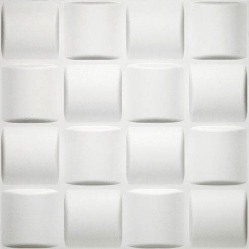 Donny Osmond Basket Weave 19.6 x 19.6 In. Self Adhesive Wall Tile, Set of Ten