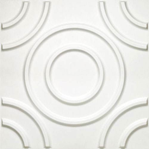 Donny Osmond Circles 19.6 x 19.6 In. Self Adhesive Wall Tile, Set of Ten
