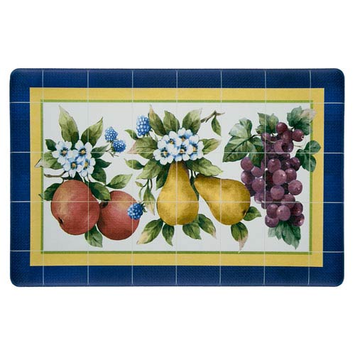 Achim Importing Company Fruity Tiles Rectangular: 18 x 30-Inch Anti Fatigue Mat