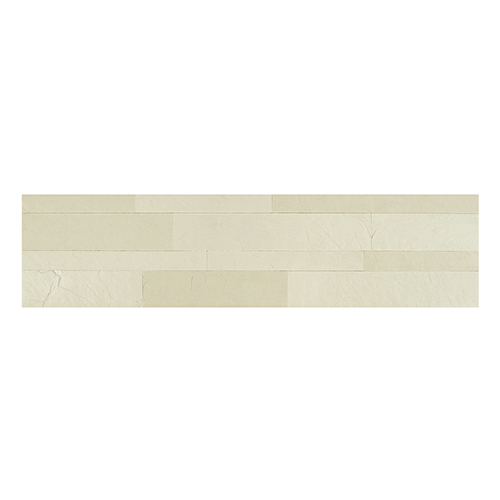 Bolder Stone 6 x 24 In. Alabaster Self Adhesive Stone Wall Tile, Set of 6