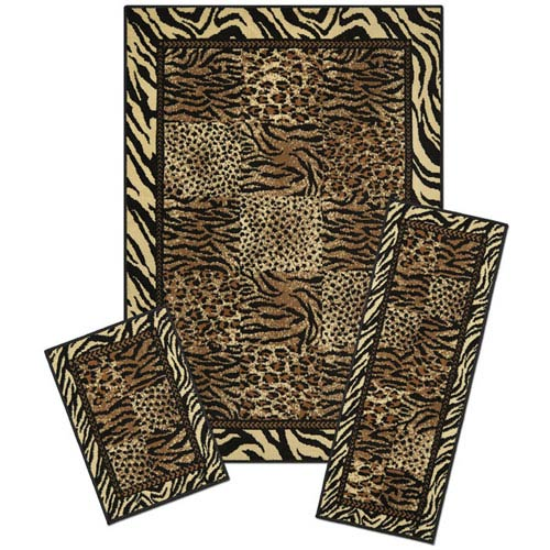 Capri Safari, Three-Piece Rug Set