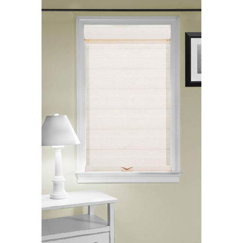 Cordless Celestial Sheer Double Layered Linen 72 x 35-Inch Shade