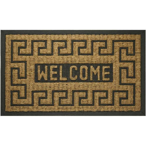 Achim Importing Company Coco Welcome Key 18 x 30-Inch Mat