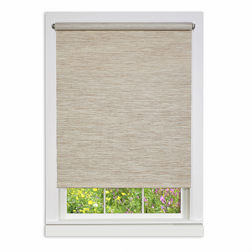Natural 72 x 25 In. Cordless Privacy Jute Shade
