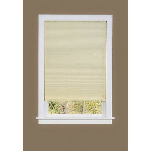 Achim Importing Company Honeycomb Cellular Alabaster 64 x 33-Inch Pleated Shade
