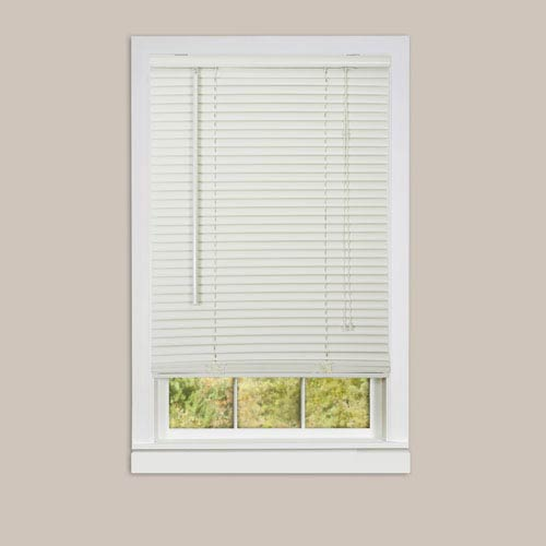 Achim Importing Company Deluxe Sundown Alabaster 64 x 23-Inch Blind