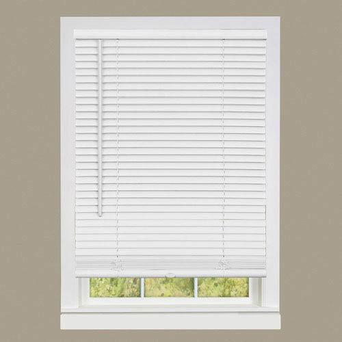 Cordless GII Deluxe Sundown Pearl White 64 x 35-Inch Mini Blind