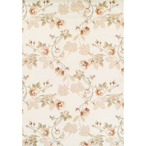 Ferrera Lily Tan Rectangular: 5 Ft. 2 In. x 7 Ft. 8 In. Rug