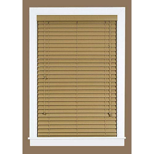 Madera Falsa  Maple 64 x 33-Inch Blind