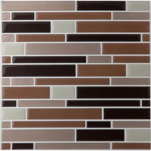 Magic Gel Beige 9.12 x 9.12 In. Self Adhesive Vinyl Wall Tile