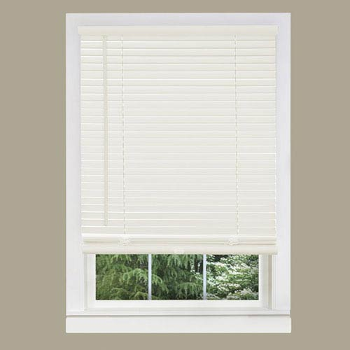 Achim Importing Company Cordless GII Morningstar Alabaster 64 x 23-Inch Mini Blind