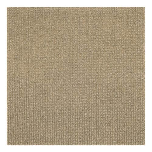 Nexus Tan 12 x 12 In. Self Adhesive Carpet Floor Tiles, Set of Twelve