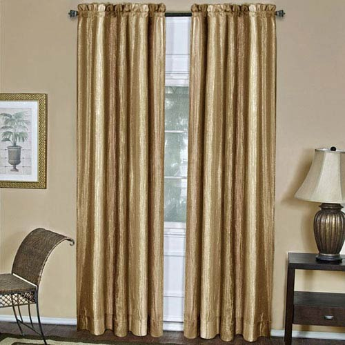 Ombre Sandstone 84 x 50 In. Window Curtain Panel