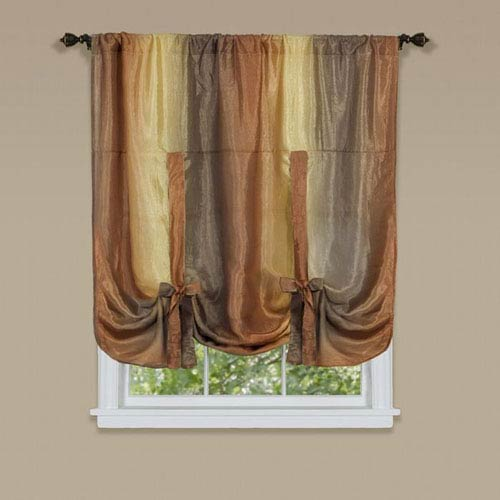 Ombre Autumn 50 x 63-Inch Tie Up Shade