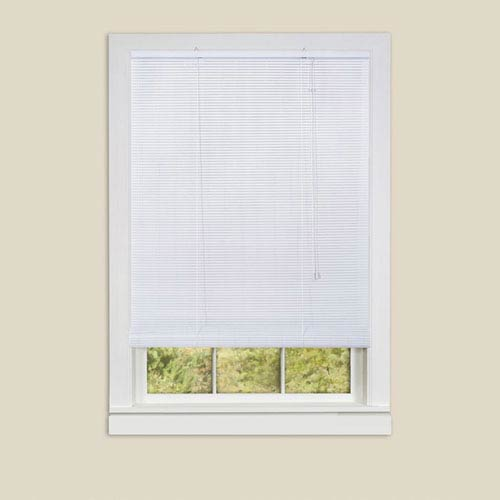 Achim Importing Company Eclipse White 72 x 48-Inch Roll-Up Blind