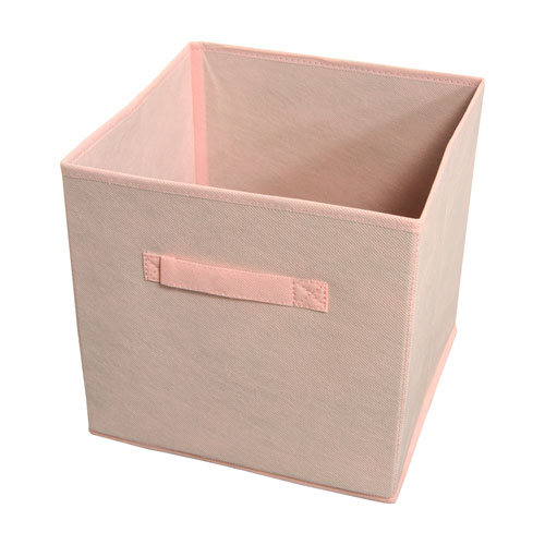Achim Importing Company Collapsible Rose Quartz Storage Bins, Set of Four