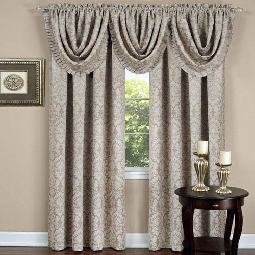 Achim Importing Company Sutton Tan 84 x 52 In. Curtain Panel