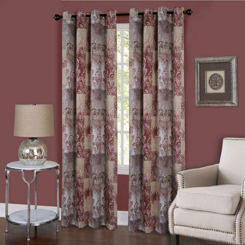 Vogue Marsala 84 x 50 In. Window Curtain Panel