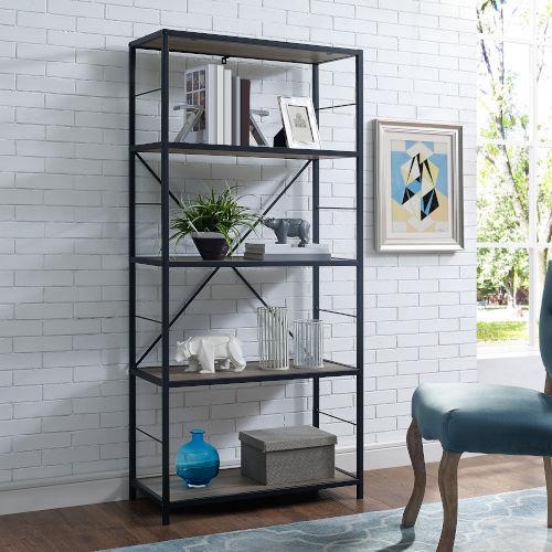 Grey Bookcase