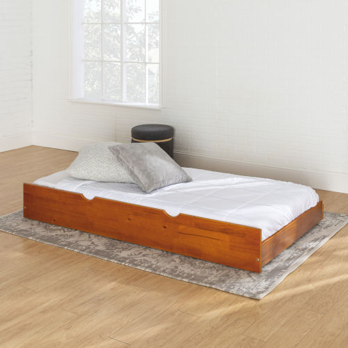 Honey Twin Trundle Bed