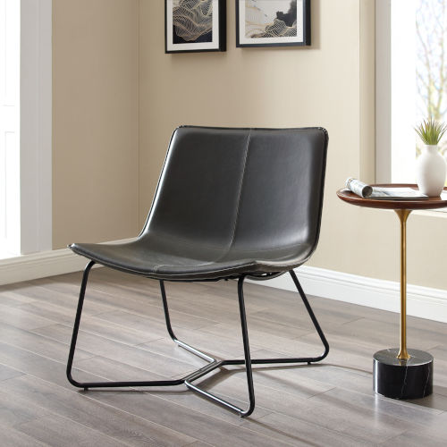 Charcoal Lounge Accent Chair