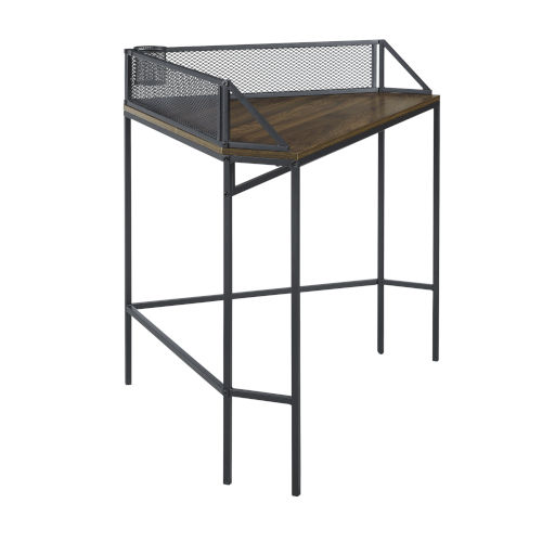 Dark Walnut 42-Inch Corner Desk