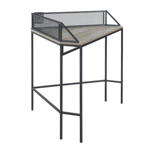 Gray Wash 42-Inch Corner Desk