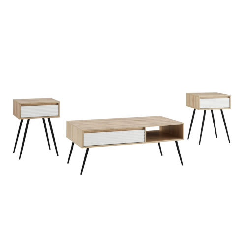 Lane Birch Table Set, Three Piece