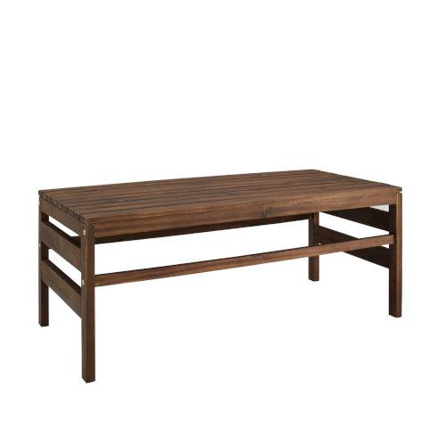 Sanibel Dark Brown Outdoor Coffee Table