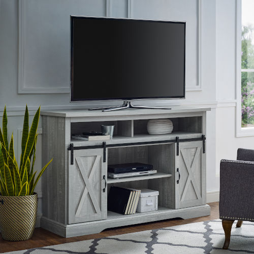 Stone Grey TV Stand
