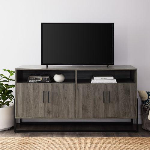Slate Grey TV Stand