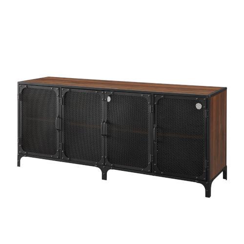 Dark Walnut 60-Inch TV Stand