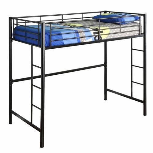 Black Metal Full Loft Bed