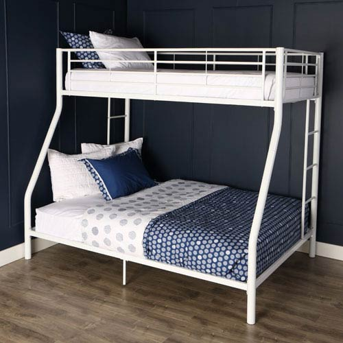 Sunrise White Twin/Double Bunk Bed