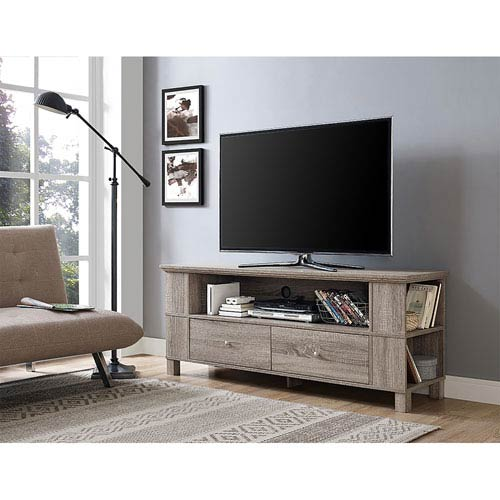 Walker Edison Furniture Co 60 Inch Wood Tv Stand Driftwood P60cmpag