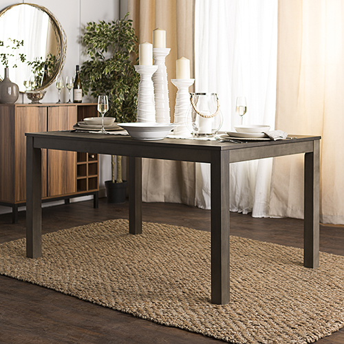 Walker Edison Furniture Co Inch Angelo Homestead Wood Dining - Aged wood dining table