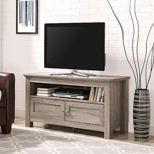 Walker Edison Furniture Co. 44-inch Wood TV Stand - Driftwood