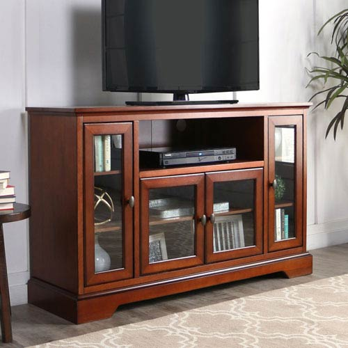 Rustic Brown 52-Inch TV Stand Console