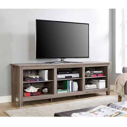 70-inch Essentials TV Stand - Driftwood