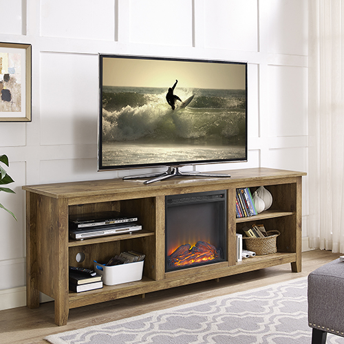 Walker Edison Furniture Co 70 Inch Wood Media Tv Stand Console With