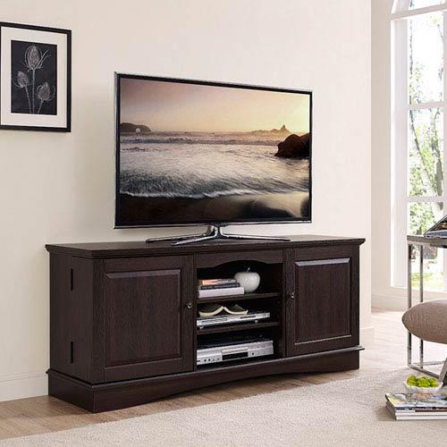 Walker Edison Furniture Co 60 Inch Espresso Wood Tv Stand Wq60c73es